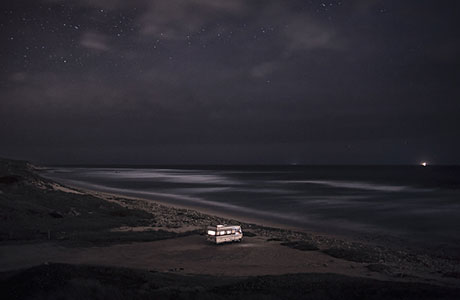 A Van in the Sea by Alessandro Puccinelli