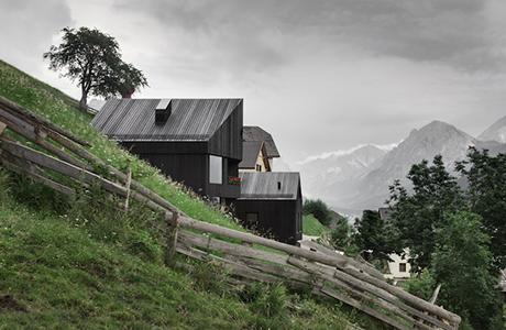 Alpine Cabins by Pedevilla Architects