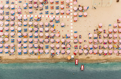 Aerial Adria by Bernhard Lang