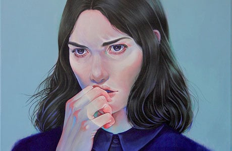 Figurative painting by Martine Johanna