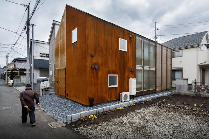 Chofu House by Daisuke Sugawara