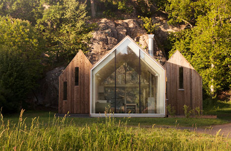 Mikro Cluster Cabins by Reiulf Ramstad Arkitekter