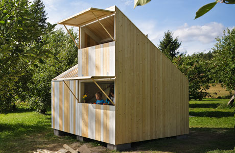 A Playhouse built by Anna & Eugeni Bach