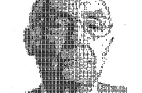 Typewritten Portraits by Álvaro Franca