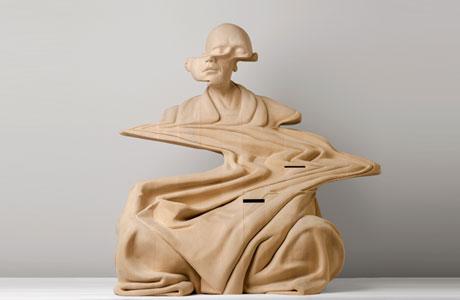 New Wooden Sculptures by Paul Kaptein