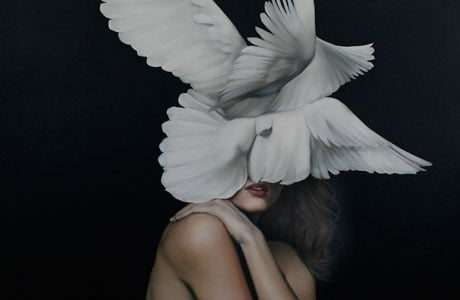 Paintings Full Of Mystery and Sensuality By Amy Judd