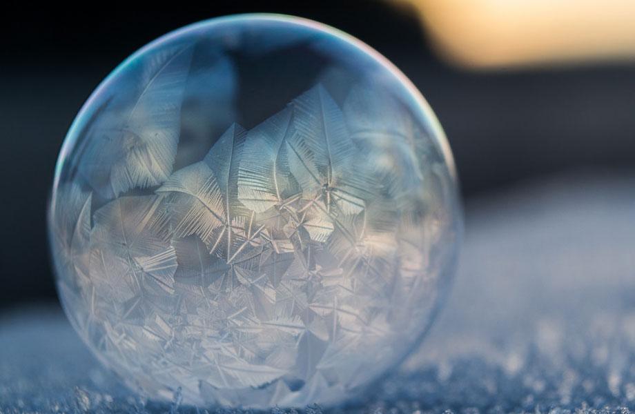 Frozen in a Bubble by Angela Kelly
