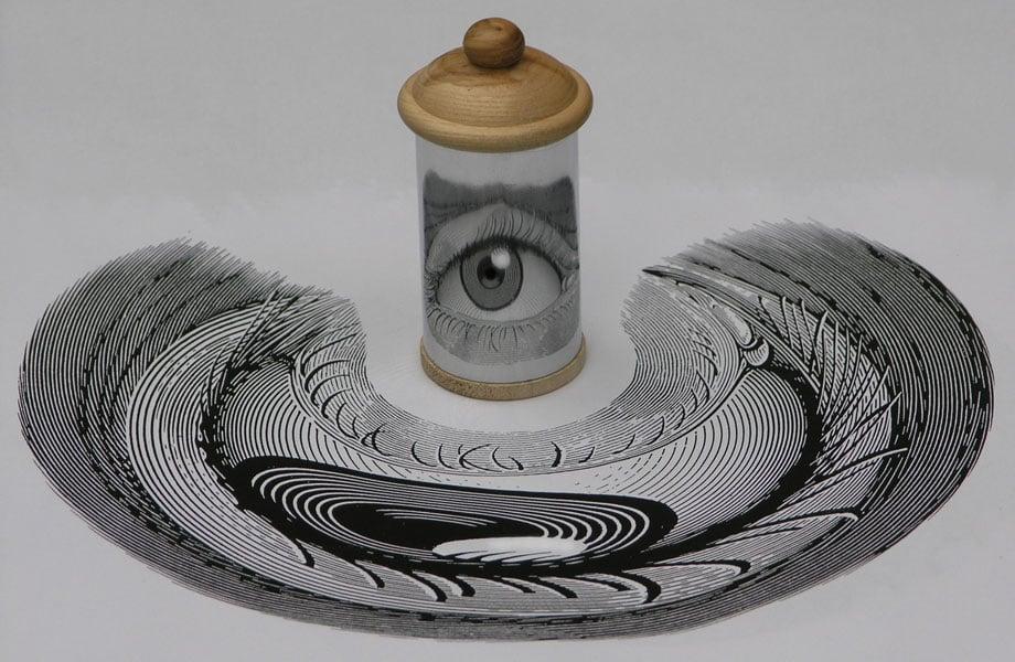 Anamorphic Art by István Orosz