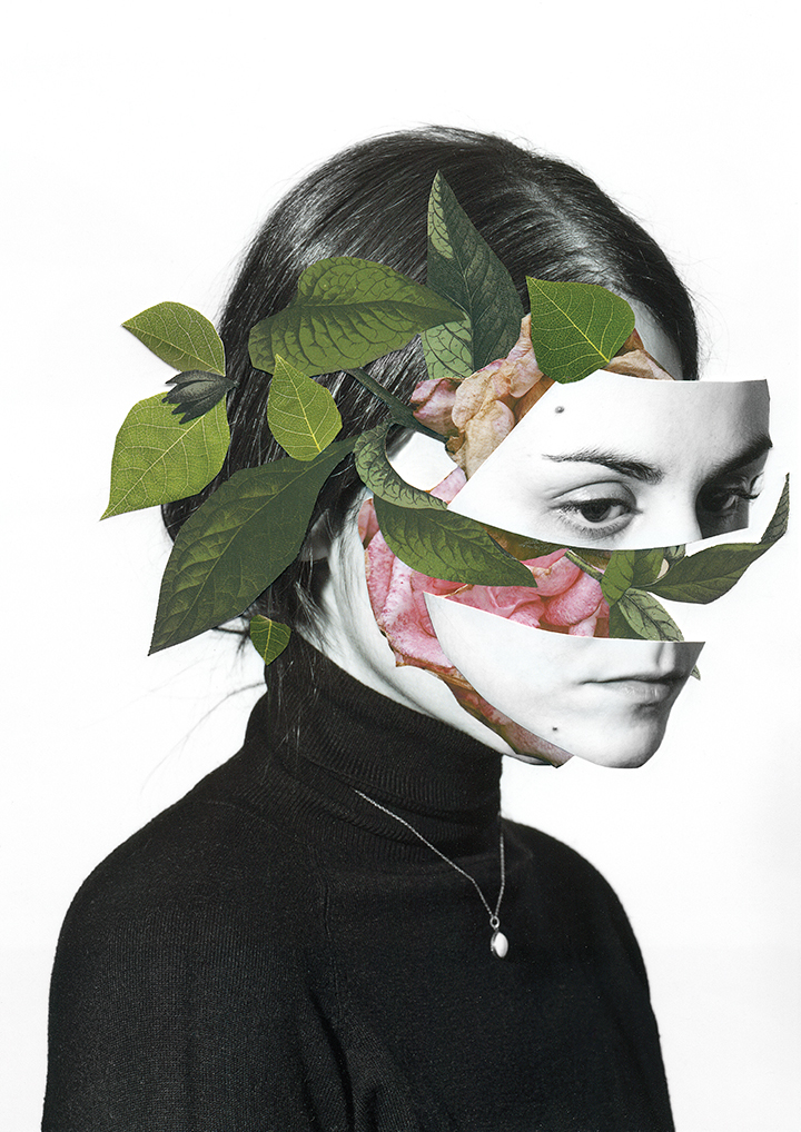 collages by rocio montoya ignant
