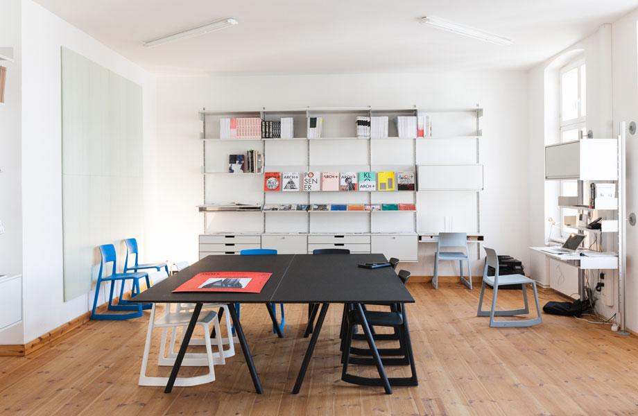 ARCH+ Studio at KW Berlin