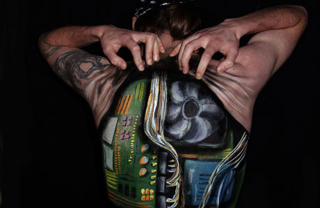 Natalie Fletcher Creates Fascinating Body Illusions