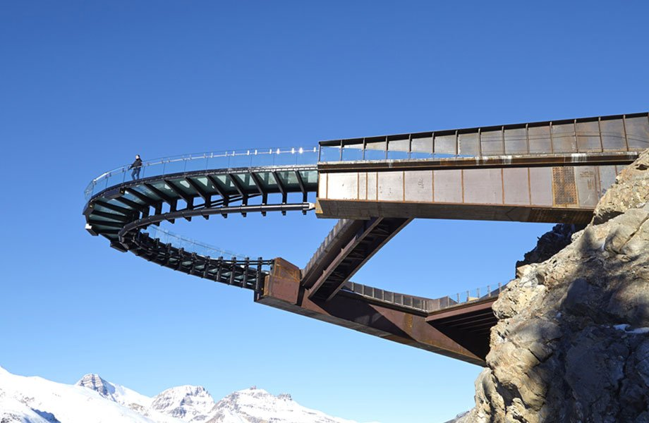 Glacier Skywalk by Sturgess Architecture in Canada