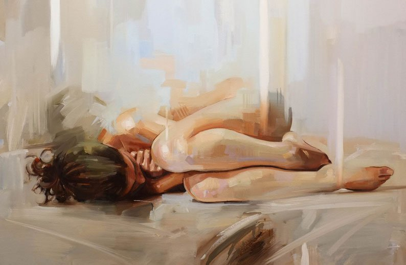 'Nude' By Painter Johnny Morant
