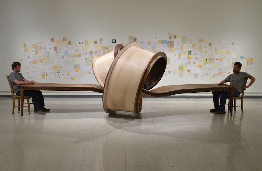 Tangled Table 'Not Now' By Artist Michael Beitz