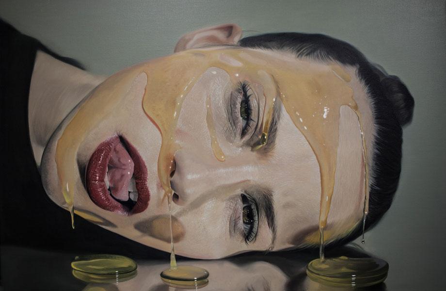 Hyperreal Paintings by Mike Dargas