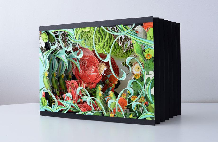 Hand-Crafted Pop-Up Works by Bozka Rydlewska