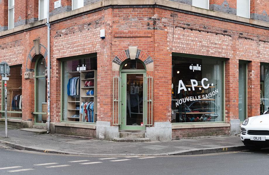 Menswear Retail Oi Polloi in Manchester