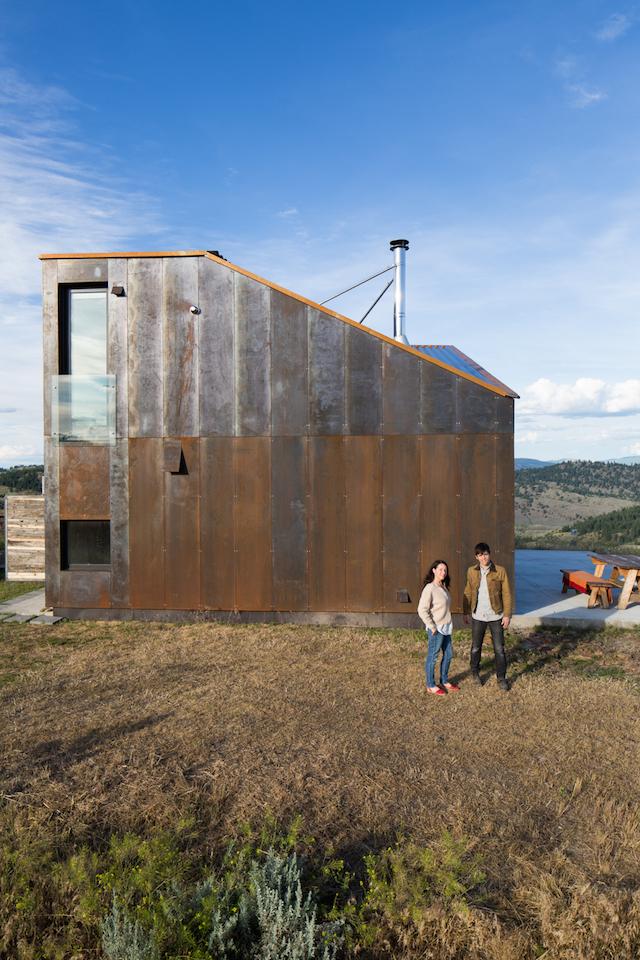 Off The Grid Prefab Cabin By Jesse Garlick