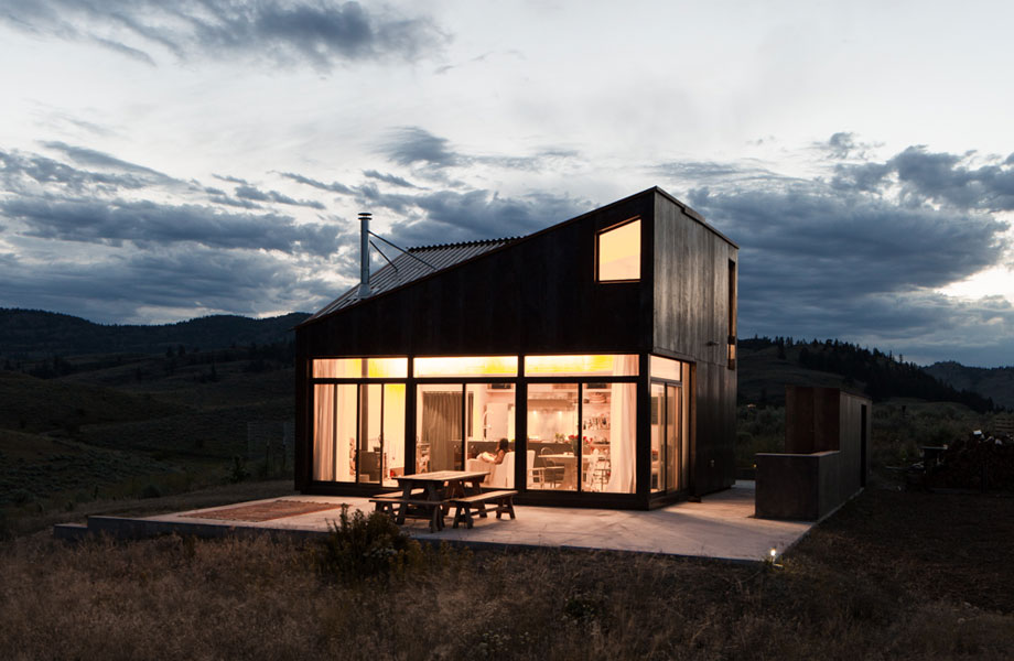 Off-the-Grid Prefab Cabin by Jesse Garlick