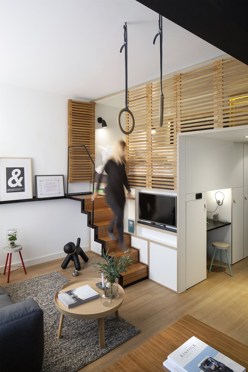 Amenagement Alcove Chambre : Hybrid living lofts the zoku loft caters to both work
