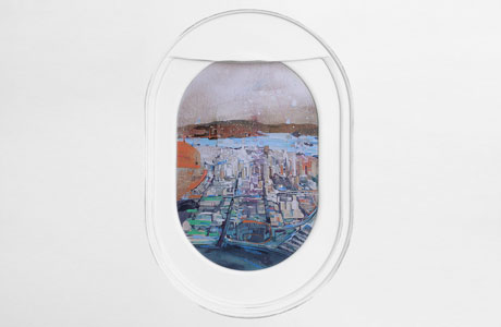 Jim Darling's Paintings Move Us Into The Passenger's Seat