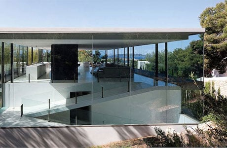 AABE Designed A Translucent House With Spectacular Views Of The Balearic Coast