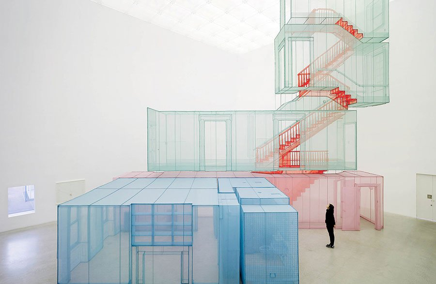 See Do-Ho Suh's Fabric Houses In A Mesmerizing Short Film