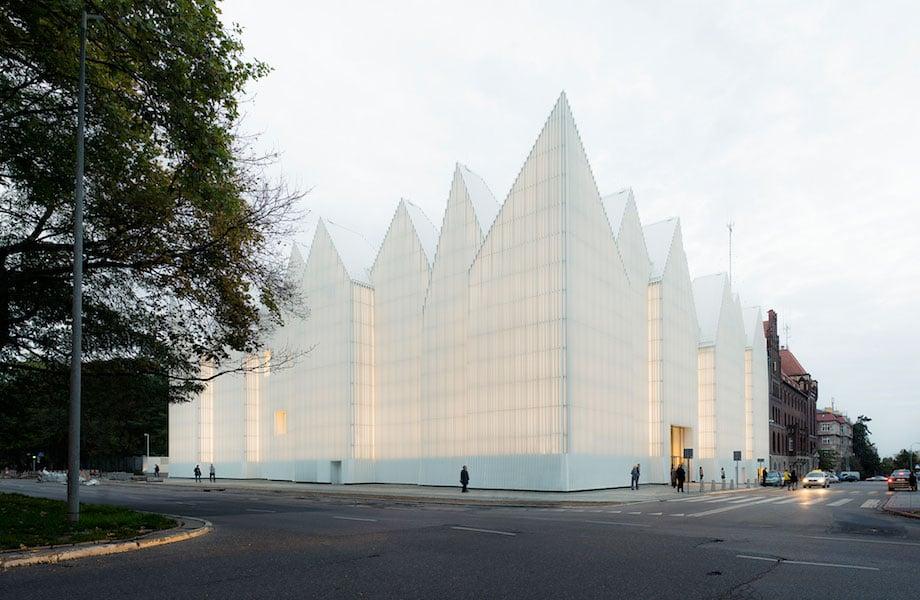 The Tip of an Iceberg - The Szczecin Philharmonic Hall