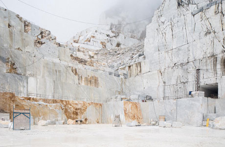 Frederik Vercruysse Captures The Unique Landscape At Marble Quarries