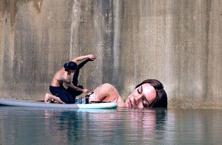 Stunning Seaside Murals by Street Artist Sean Yoro aka HULA in Hawaii