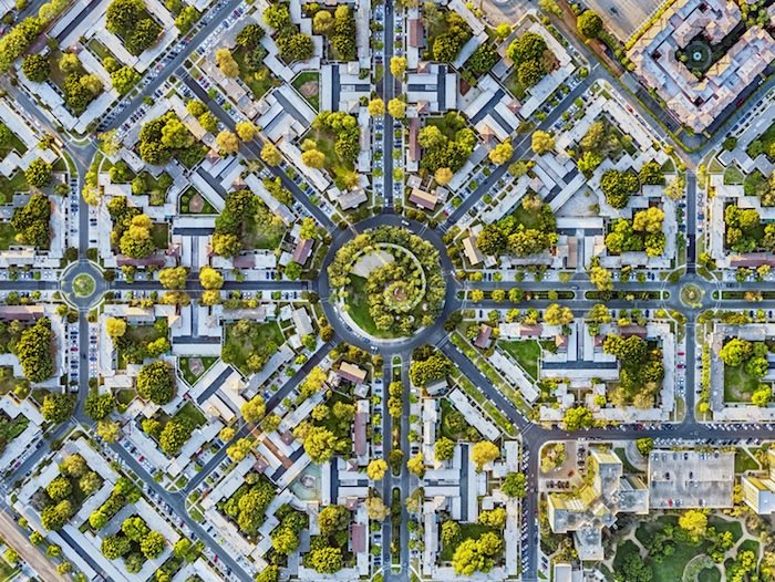 Jeffrey Milstein Captures Ornate Urban Patterns From Above IGNANT Stunning Urban Pattern