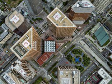 City aerials