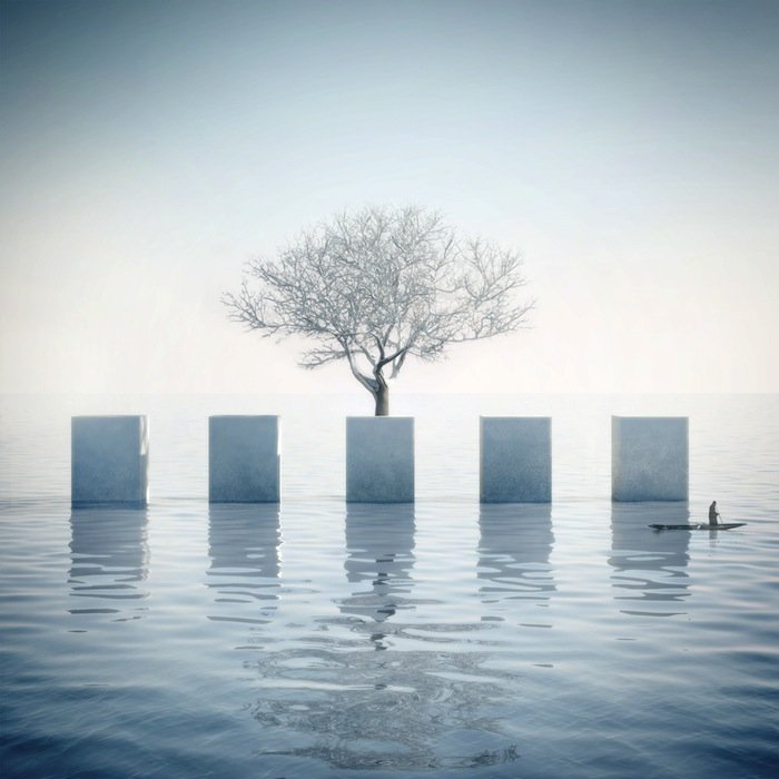 Michele durazzi creates surreal minimalist architecture for Minimalisme art