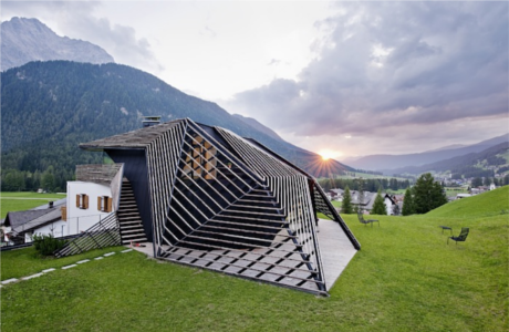 Plasma Studio Designed A Quirky Holiday House Among The Mountains in Italy