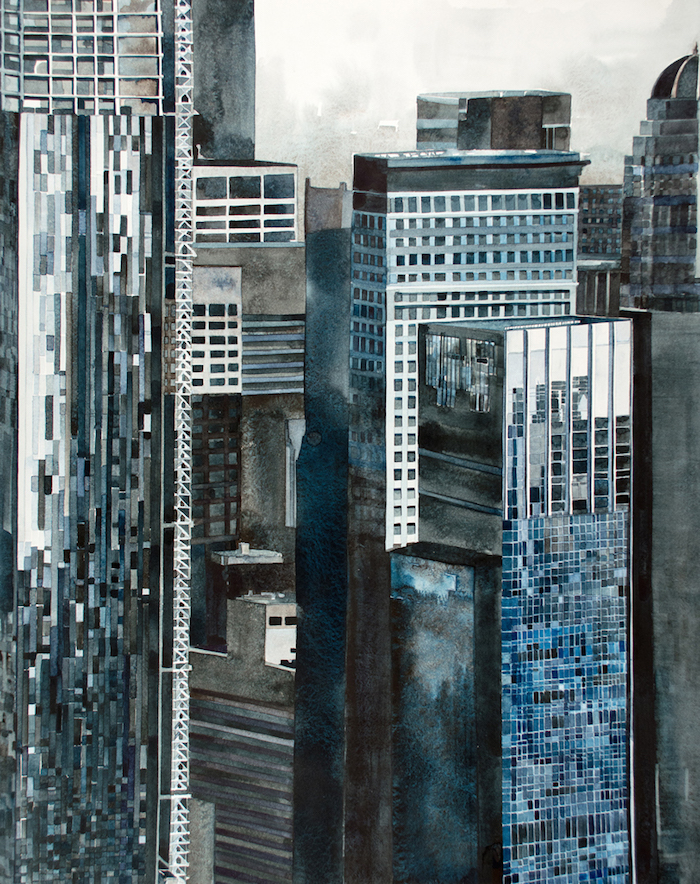 Artist Amy Park Explores The Architecture Of New York City