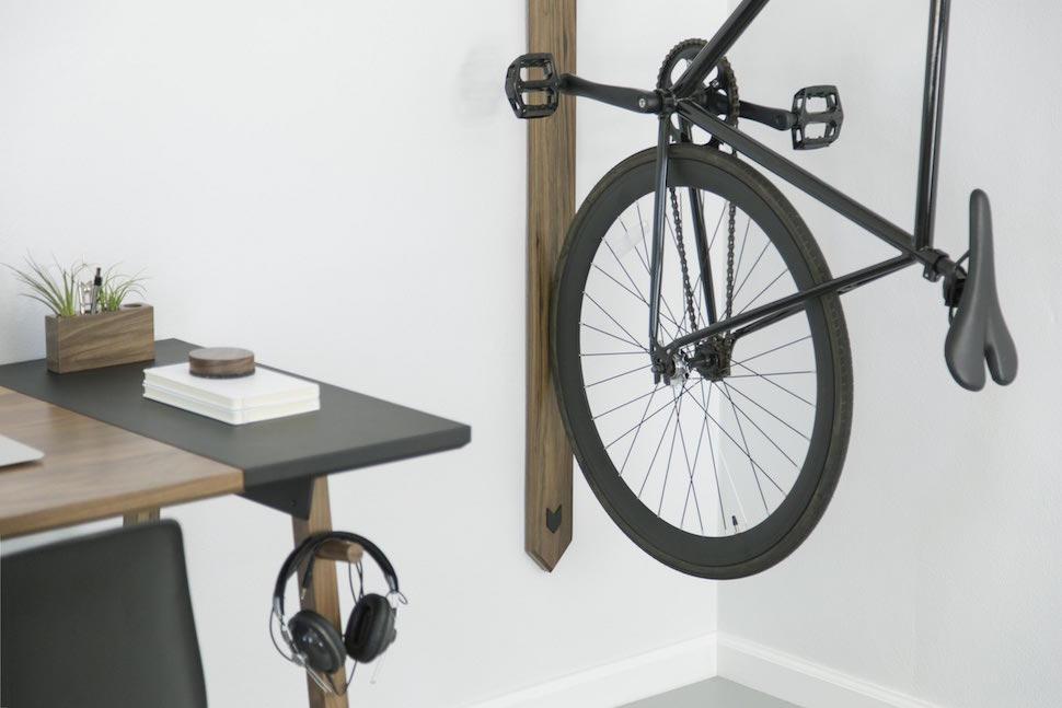 Artifox Desk And Bike Rack