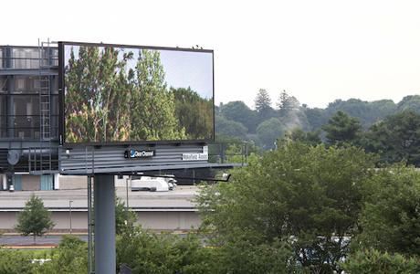 Brian Kane Displays Art On Billboards