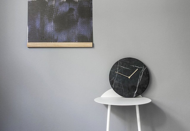 Top 20 marble accessoires - Wanduhr modern weiay ...
