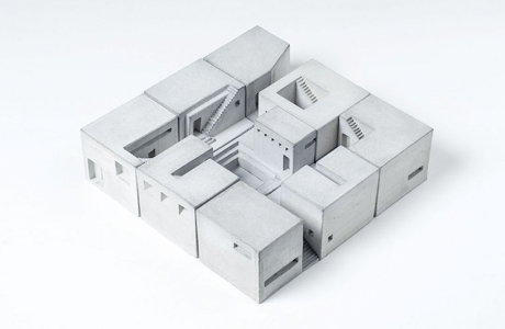 Concrete Miniature Buildings Celebrate Classic Architecture