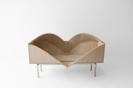 The Wave Cabinet by Sebastian Errazuriz Shapes Into Different Forms