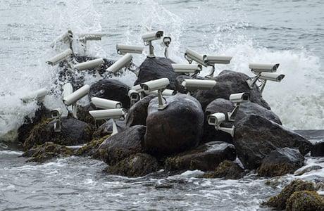 Artist Jakub Geltner Installs Surveillance Cameras Into Public Spaces