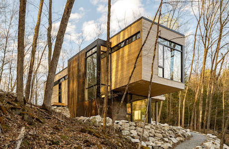 The Family Cottage That Hangs Over A Cliff By Christopher Simmonds