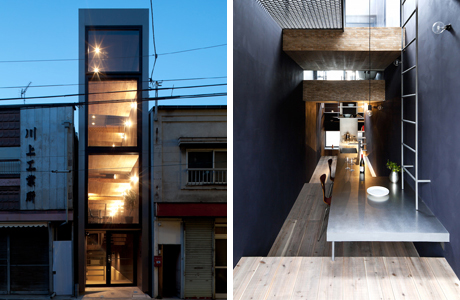 A Narrow 1.8 Meter-Wide House In Japan By YUUA