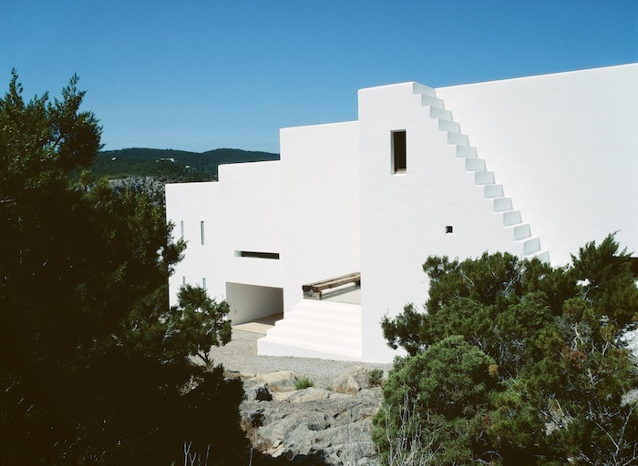 Minimal Holiday House In Ibiza By Ramon Esteve