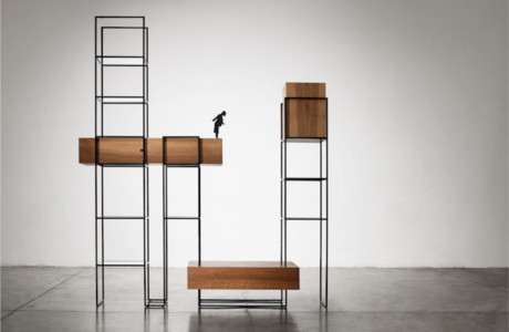 'Metropolis', A Furniture Series That Mimics Skylines