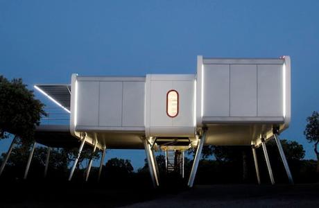 A Spaceship Home By NOEM