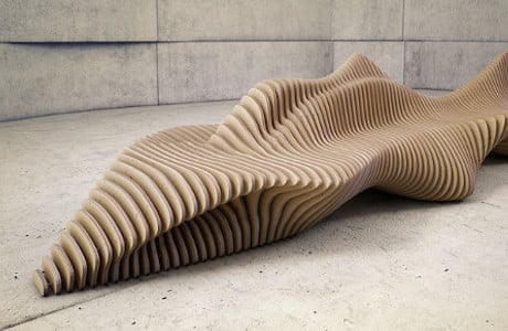 Flowing Wooden Furniture By Oleg Soroko