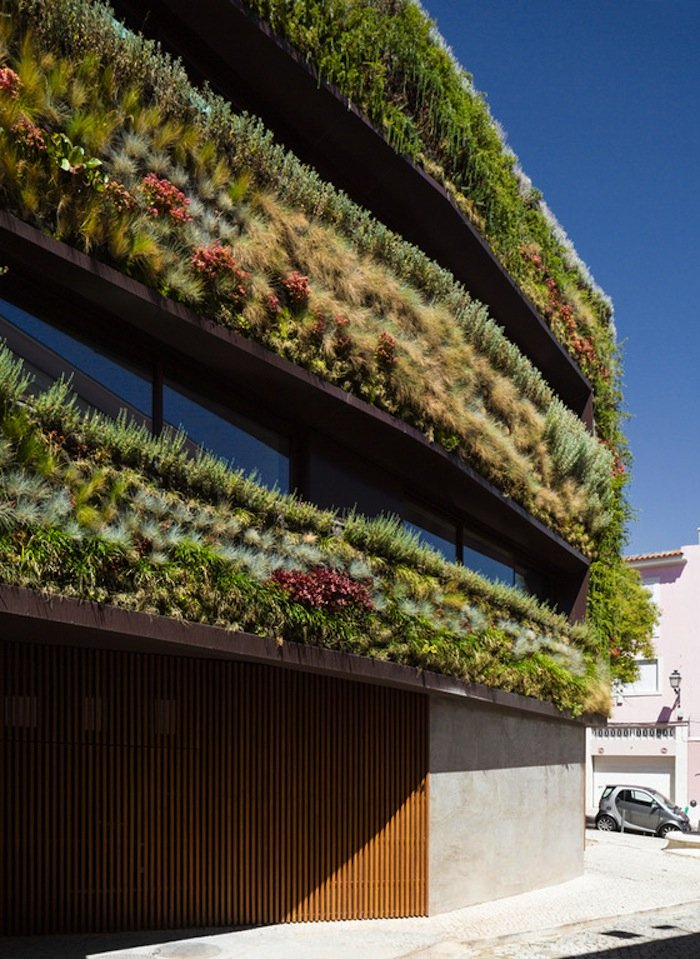 A Plant Covered Sustainable Home In Portugal Ignant Com
