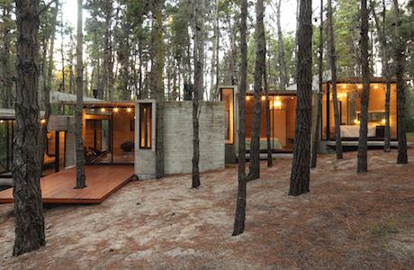 A Concrete Summer House By BAK Arquitectos