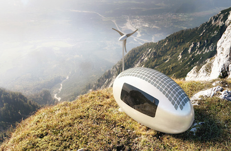 The Ecocapsule, A Portable Solar-Powered Micro Home